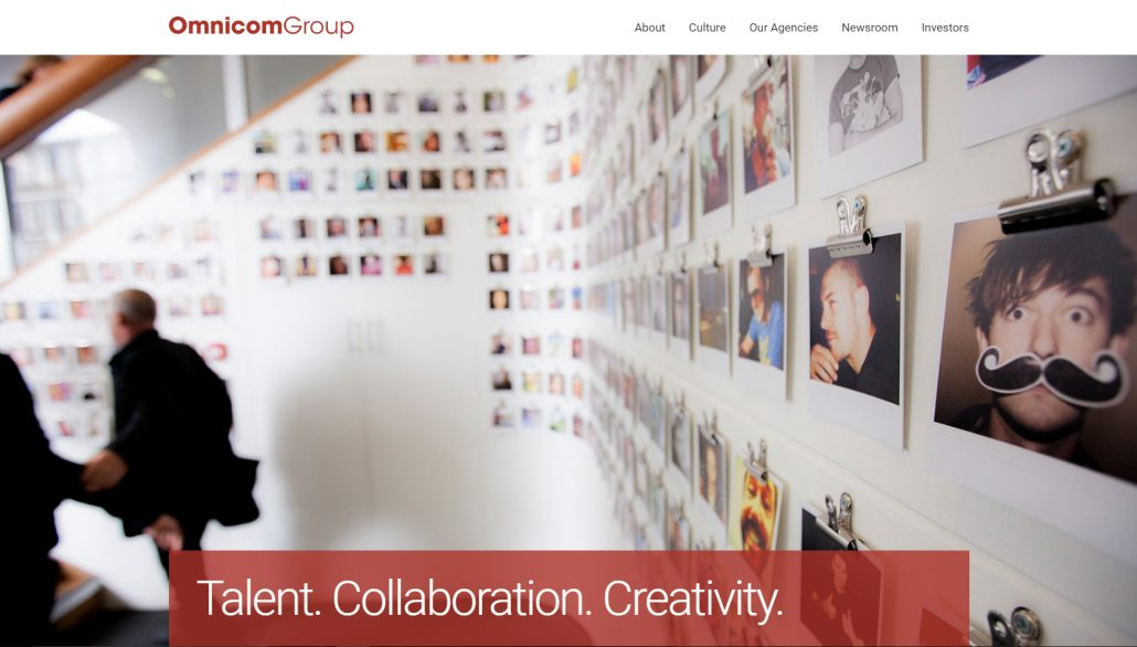 Omnicom Group Website