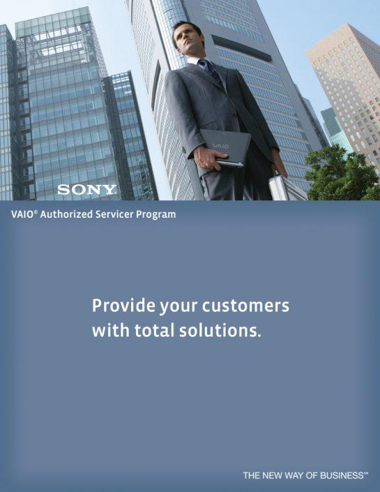 Brochure - VAIO Authorized Servicer Program